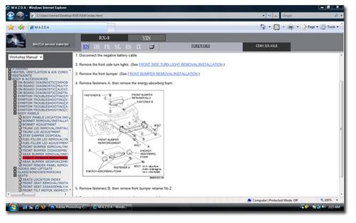 Product picture 2003 - 2008 MAZDA RX8 SERVICE MANUAL WORKSHOP REPAIR MANUAL