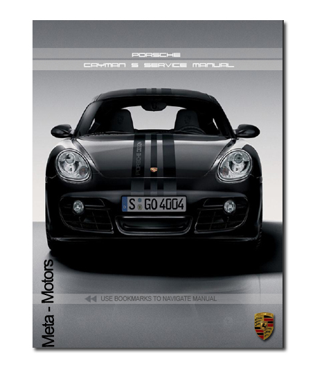 Product picture 2005 2006 2007 2008 PORSCHE CAYMAN S SERVICE MANUAL